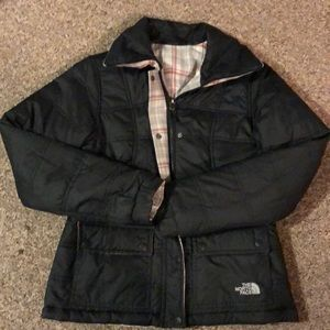 Reversible small north face woman's jacket